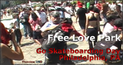 Skaters Free Love Park!